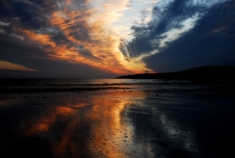 ballyheigue-bay-at-sunset