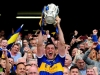 Seamus Callanan lifts the Liam McCarthy Cup 2019